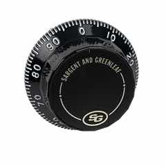 Front Reading Replacement Dial (Black & White) - 1