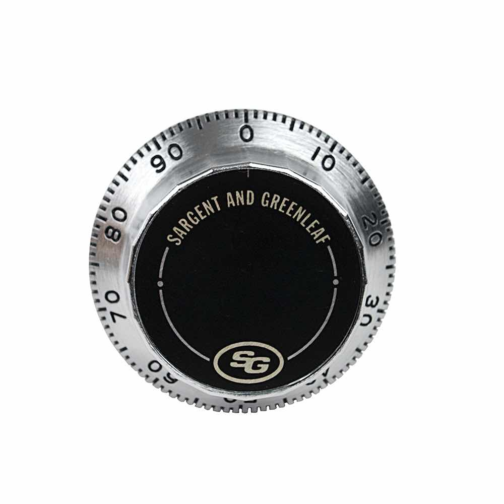 Front Reading Replacement Dial (Satin Chrome)
