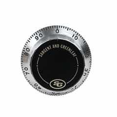 Front Reading Replacement Dial (Satin Chrome) - 0