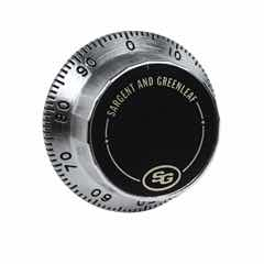 Front Reading Replacement Dial (Satin Chrome) - 1